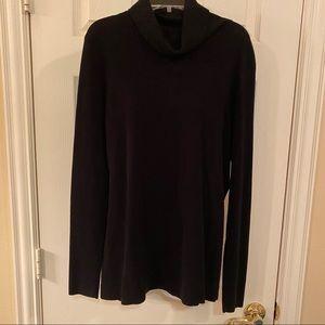 Josephine Chaus black turtleneck sweater